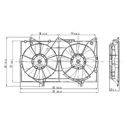 2003 toyota camry radiator fan replace toyota camry 2002 2003 radiator fan assembly