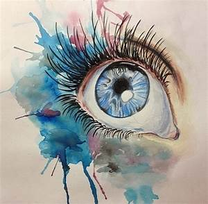 Beautiful watercolor eye | Products I Love | Pinterest