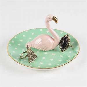 Bijoux Flamant Rose : coupelle bijoux flamant rose little marmaille ~ Teatrodelosmanantiales.com Idées de Décoration