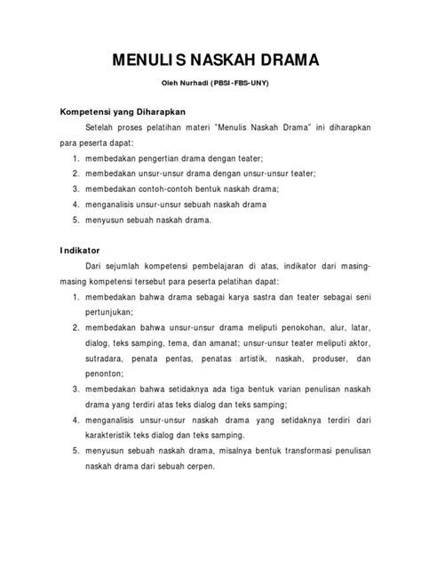 Gambar Contoh Teks Drama Bahasa Jawa Lucu 6 Orang