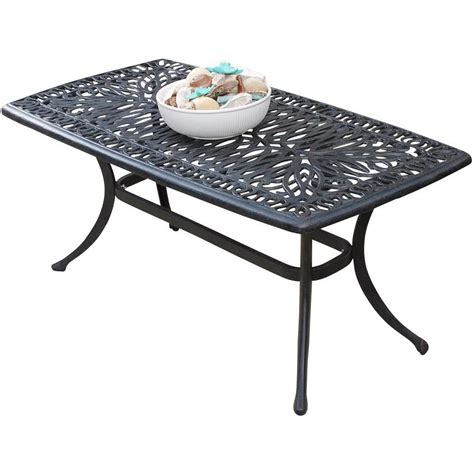 Inspiring Metal Patio Coffee Table  Patio Design #384
