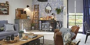 Objet Deco Style Industriel : moderniser son salon 10 conseils suivre marie claire ~ Melissatoandfro.com Idées de Décoration