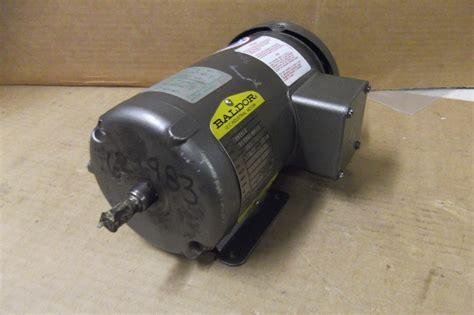 Baldor Electric Motor Phase