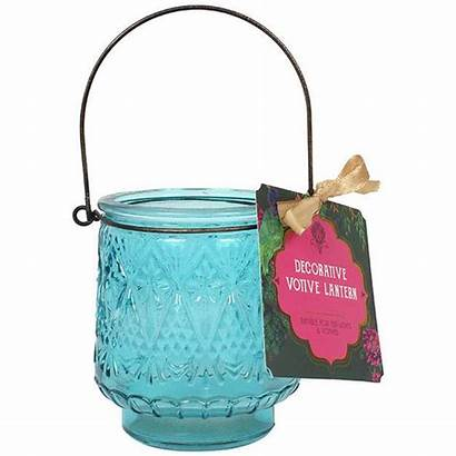 Turquoise Candle Glass Holder Holders Candles Fragrance