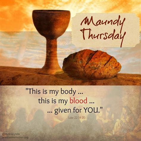 Image result for MAundy Thursday