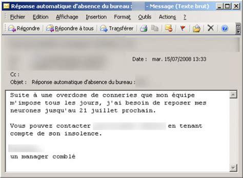 je serai absent du bureau 20 messages d absence originaux pour vos cong 233 s mode s d emploi