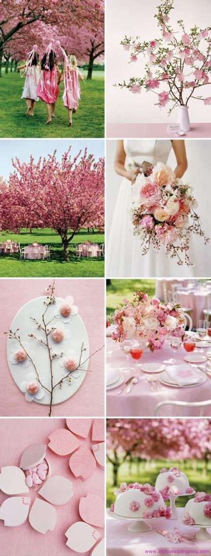 Wedding Spring Theme Cherry Blossoms Center Pieces 33 Best