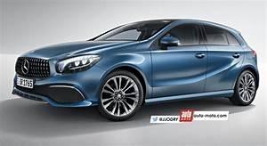 Futur Mercedes Classe B : scoop future mercedes classe a 2018 l 39 toile dans le mille automoto magazine auto et moto ~ Gottalentnigeria.com Avis de Voitures