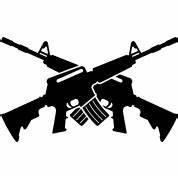 Crossed M16 T-Shirt   Spreadshirt   ID: 9232062