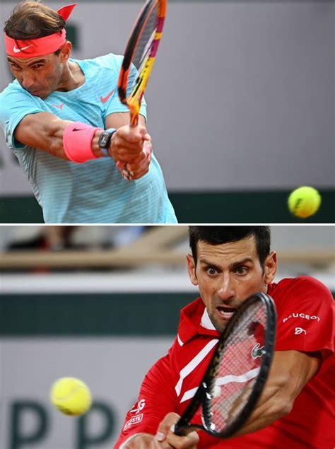 Rafael Nadal taking on 'my greatest rival' Novak Djokovic ...