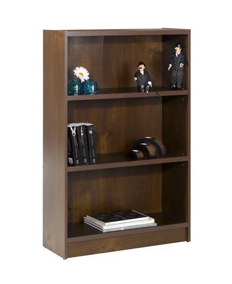 24 inch tall bookcase nexera essentials 48 inch tall bookcase truffle 731112