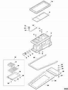 Jet Drive Housing Components For Sportjet  240 Efi M2 Jet