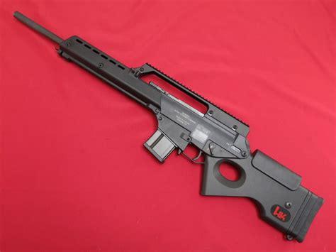 heckler koch hk sl    loading rifleexcellentno resv  sale  gunauctioncom