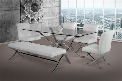 modrest   modern stainless steel  glass top
