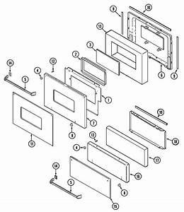 Magic Chef 9112vuv Gas Wall Oven Parts