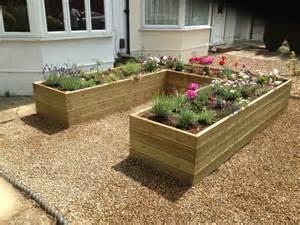 Raised Flower Beds Borders