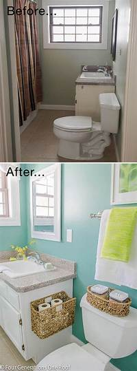 small bathroom makeovers Tiny Bath Makeovers | Decorating Your Small Space