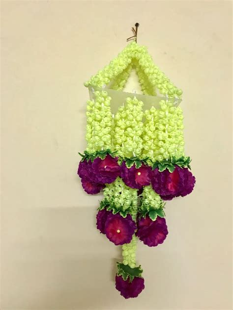 sphinx artificial jasmine flowers chandelier jhoomar