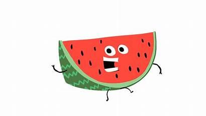 Watermelon Sandia Giphy Watermelons Bag Sticker Luxury