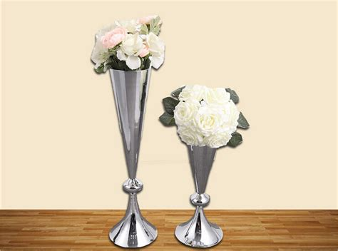 Large Silver Vases Wholesale by Free Shipping Factory Wholesale European Style Silver