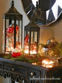 christmas lanterns primitive decor pinterest
