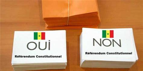 resultat bureau de vote référendum au sénégal suivez les résultats des bureaux de