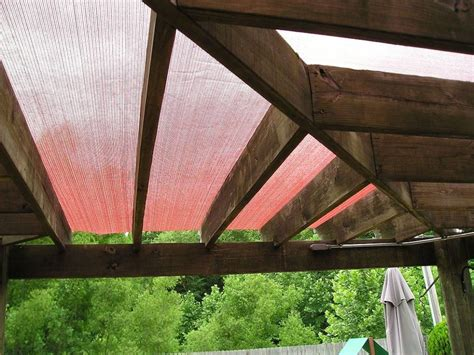 how to install shade cloth a patio pergola deck or