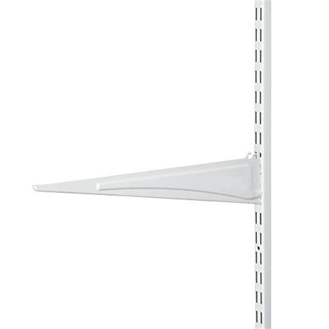 Closetmaid Shelf Bracket - closetmaid 2854 shelftrack 16 inch locking shelf bracket