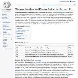 the wechsler preschool and primary scale of intelligence iq pearltrees 832