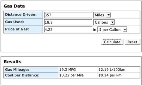 Use The Gas Mileage Calculator To Save Money On Gasoline