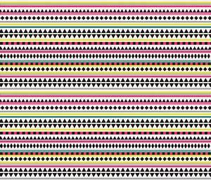 Aztec Bright twrap kimsa Spoonflower