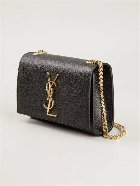 aw ysl saint laurent small classic monogram black