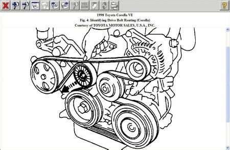 Toyota Corolla Engine Diagram Automotive Parts