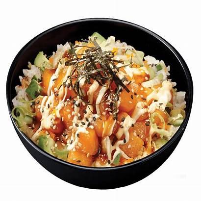 Poke Sushi Saumon Salmon Bowls Bols Menu