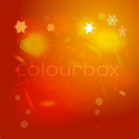 abstract background orange red card stock vector