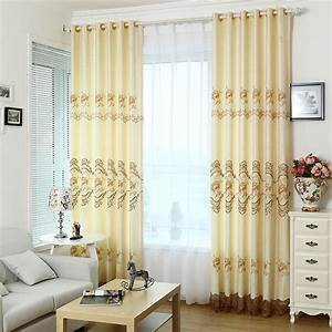 Elegant and modern dining room curtains made of polyester for Modern dining room curtains