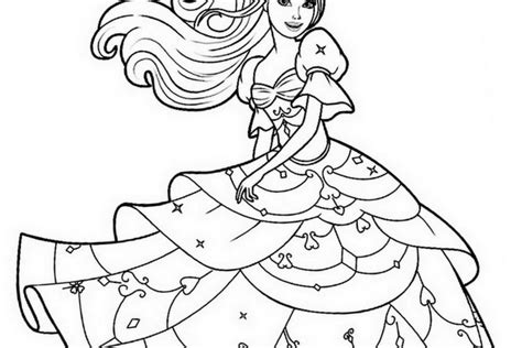 barbie print  coloring pages  coloring pages