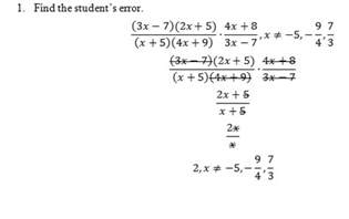 Multiplying Rational Expressions Worksheet with Answers