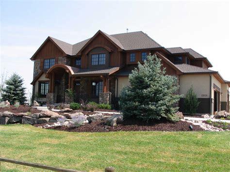 mountain house plans home design