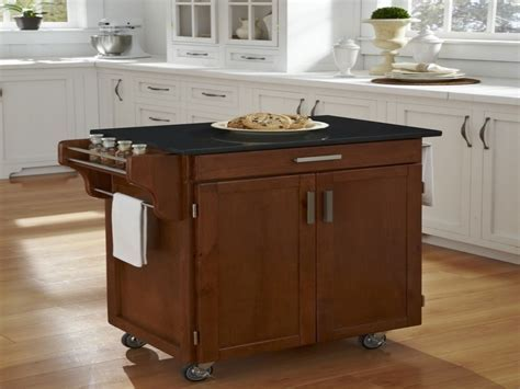 Portable Kitchen Island Using Under Cabinet ? Cabinets