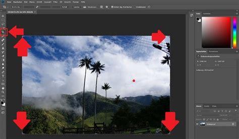 gewusst wie mit photoshop bilder zuschneiden