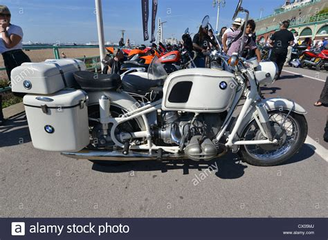Bmw With Sidecar by Bmw Motorcycle With Sidecar Stock Photo 50406290 Alamy