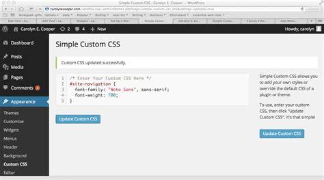 thesis customize sidebar