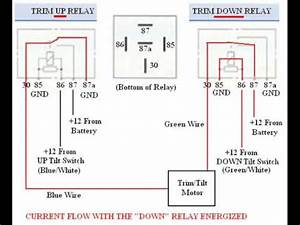 Troubleshooting  Bypassing   U0026 Wiring Spdt Tilt Trim Relay