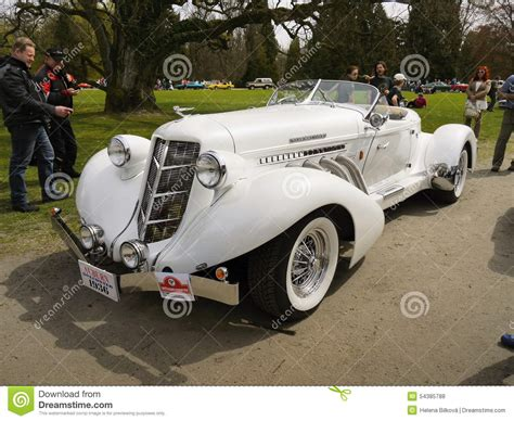 Classic Luxury Cars, Auburn Speedster Replica Editorial