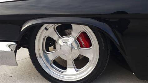 chevrolet bel air custom lowrod billet wheels airride