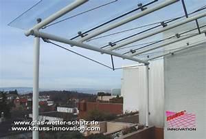 balkonuberdachung aus glas terminali antivento per stufe With französischer balkon mit glatz sonnenschirm reinigen