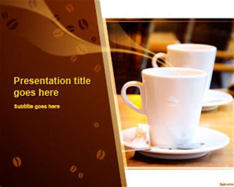 coffee powerpoint templates  powerpoint templates