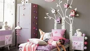 davausnet chambre ado mauve et gris avec des idees With chambre violet et rose