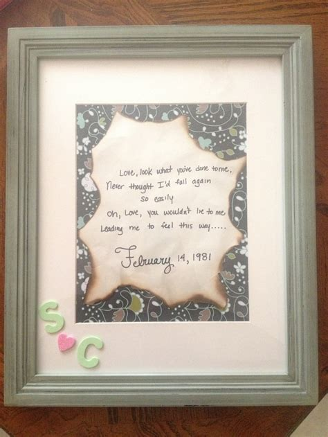 anniversary gift   parents   lyrics